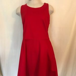 Francesca's women's red dress. Size Large NWTs